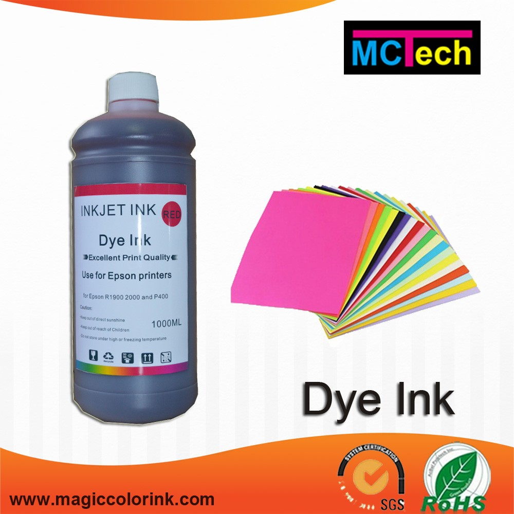 Wholesale 1000ml continuous dye ink for canon print head made in ...