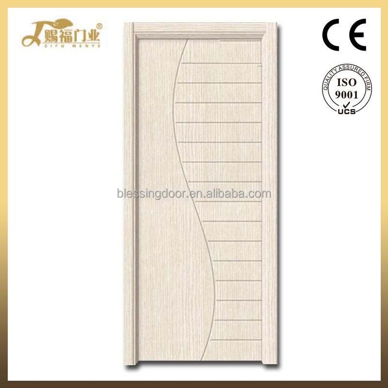 Luxurious simple beautiful type interior door pvc mdf wooden doors
