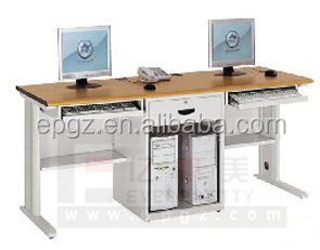 Merveilleux Wooden Study Table Design,Study Computer Table,Double Seats Study Table