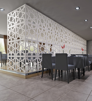 Decorative Panels Screen Lobby Balcony Mashrabiya For