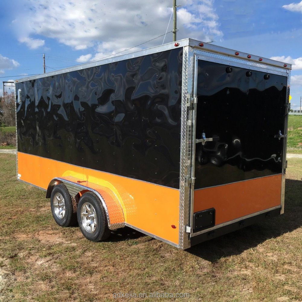 Fiberglass Enclosed Trailers Cargo Box Trailer Buy Fiberglass