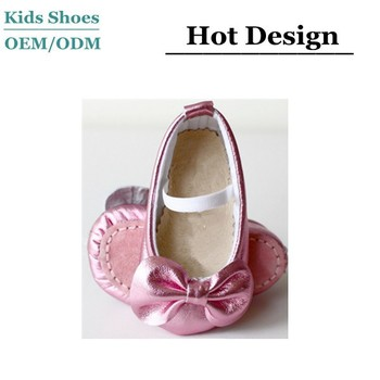 Christmas Shoes For Girls.Pink Metallic Leather Bow Toddler Girl Shoes Classic Ballerina Shoes Baby Girls Christmas Shoes Buy Baby Girls Christmas Shoes Classic Ballerina