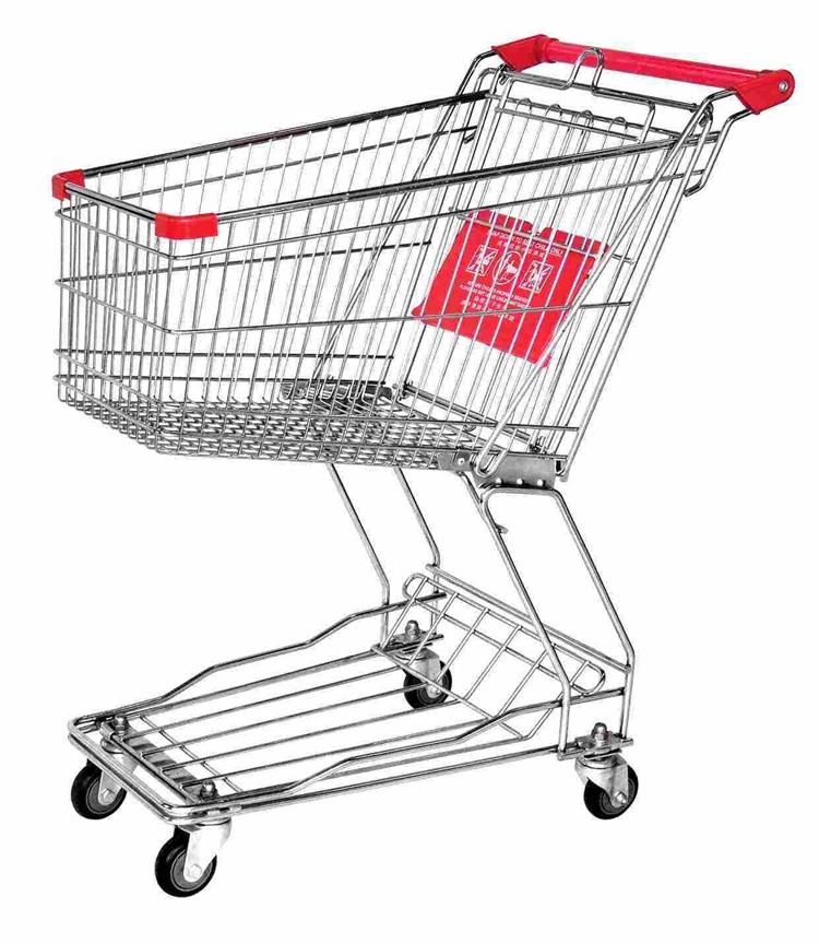 Elevator Caster Wheel for Shopping Cart Swivel Bearing Head