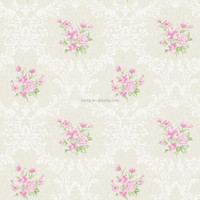 Imported Wallpaper Supplier royal floral wallpaper for bedroom deco