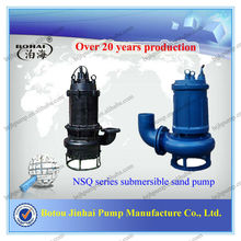 NSQ series submersible river suction sand pump for sediment