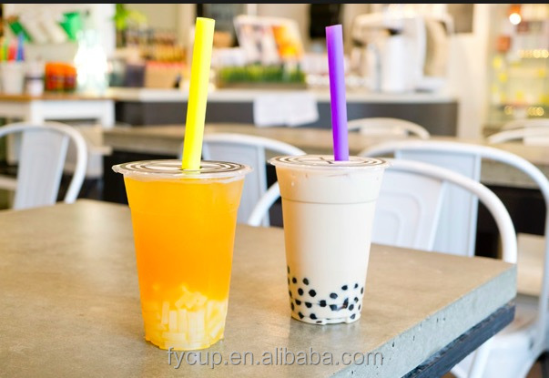 Eco-friendly customized bubble tea cup sealing film plastic cup sealing roll film