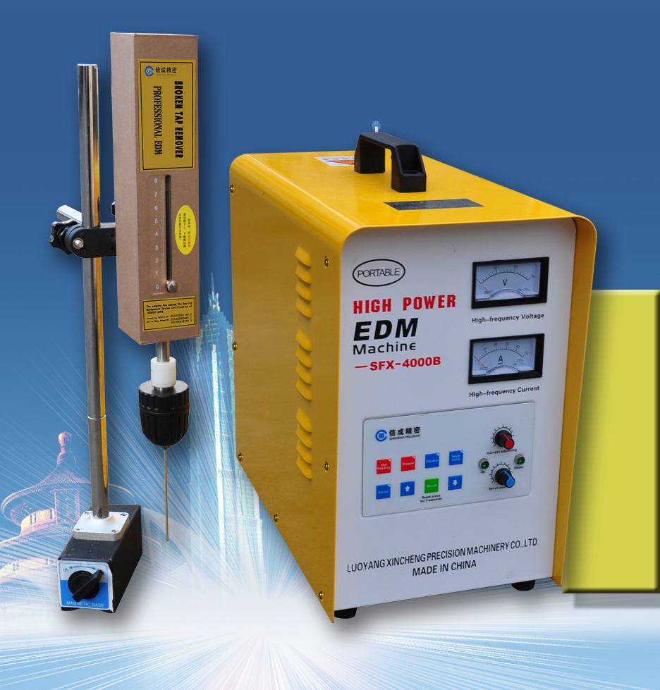 Good Quality Hot Sale SFX-4000B portable EDM Machine driller broken exhaust manifold bolt removal tool