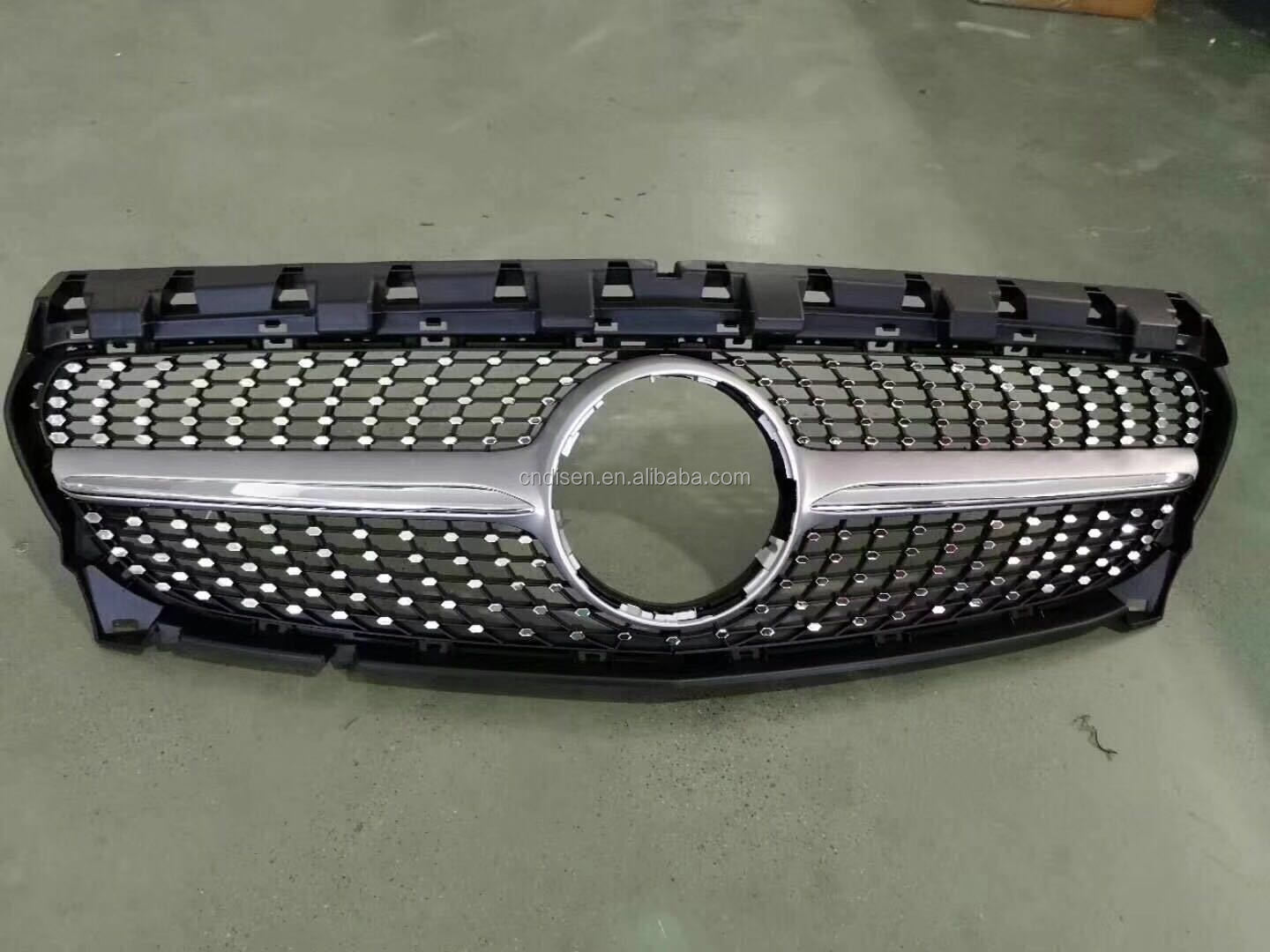 Front grille grill For Mercedes Benz GLA 2014-2017 x156 diamond