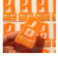 Made in China fast delivery high quality printed self-adhesive kids face decor 3d clear custom epoxy sticker