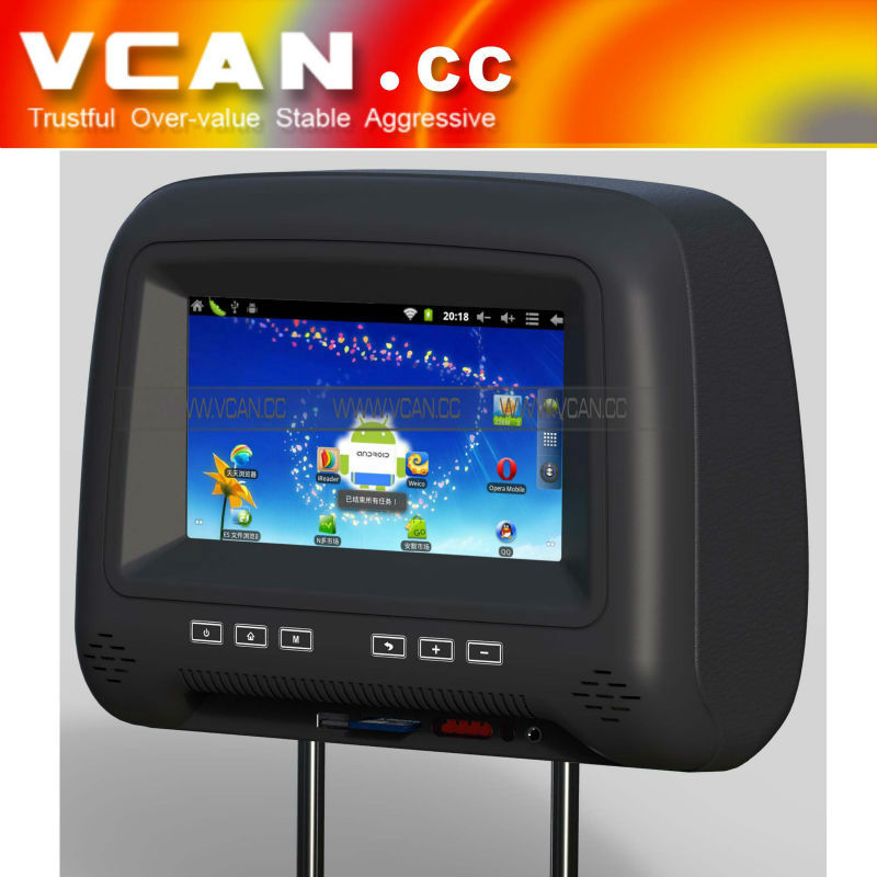super 7 inch car headrest wifi with Android system