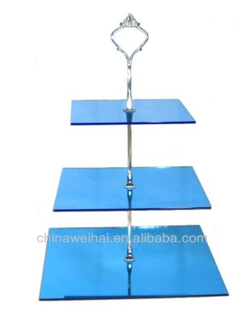 Round  ACRYLIC 3 Tier Cake Display Stand