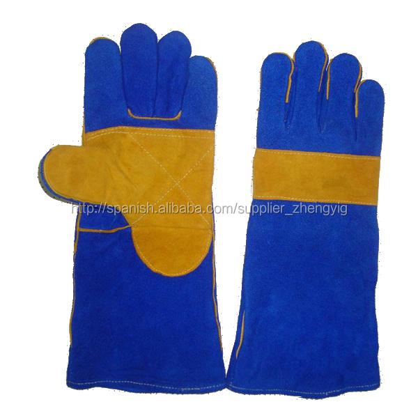 a0f17d165e economía reforzada guantes de soldadura de palma con hilo de kevlar ...