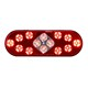 6 inch oval led trailer light with Emark approved
