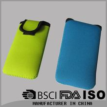 neoprene wallet cell phone pouch for mobile phone