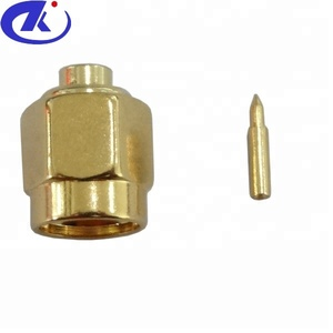 SMA Connector Male St. Angle For RG405 Cable