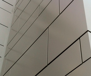 Beautiful Office Building Project Exterior Wall Aluminum Panel Cladding