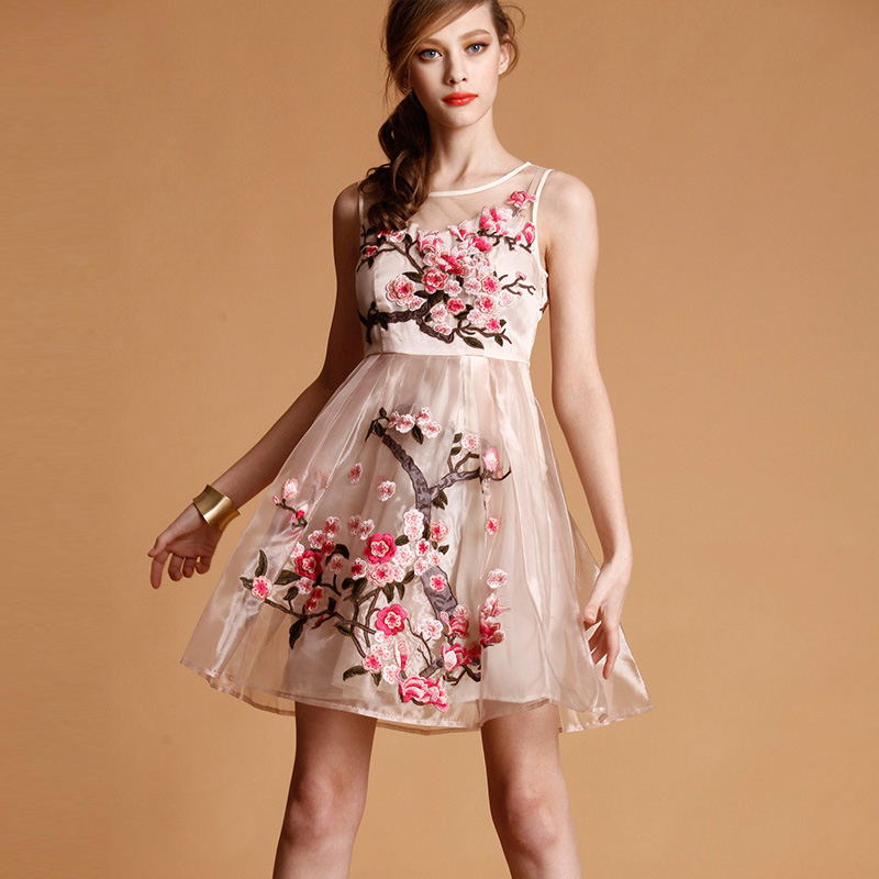 """""""Special offer clearance no returns"""" Women Dress summer dresses organza fashion sexy ..."""