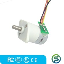 3v 12mm 2 phase micro dc gear stepper motor for ip camera made in china