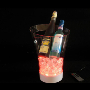 China Wholesale Custom Belaire Rose Champagne Led Ice Bucket