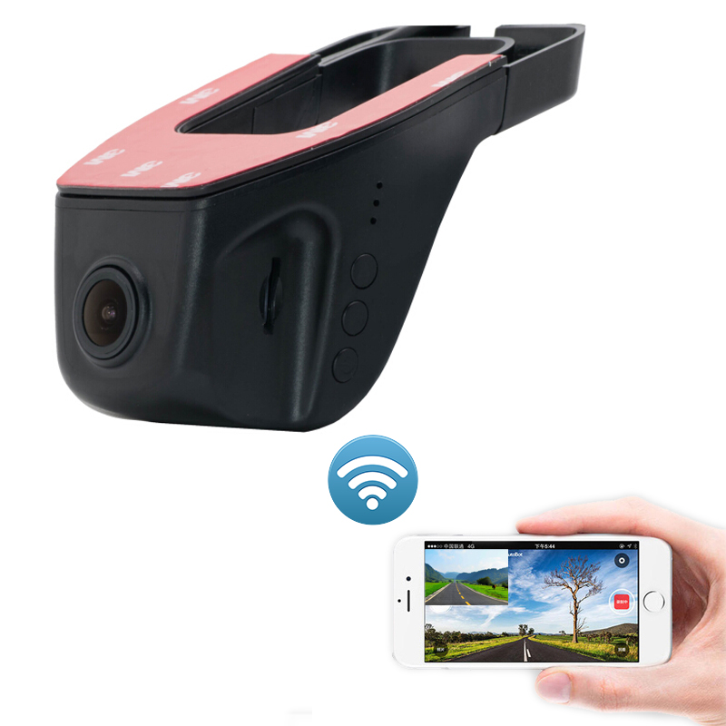 Sony Imx323 Sensor Wifi Hidden DVR 1080P Dash Camera Video Auto For toyota