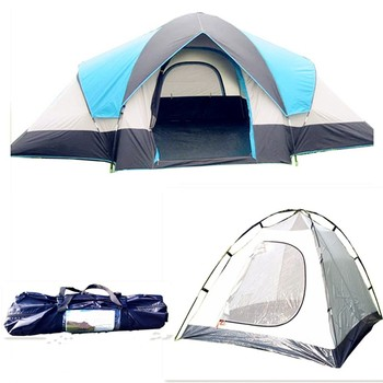High quality outdoor winter barraca camping tent for family