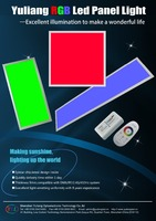 Mutiple Colour Changing 2.4Ghz remote control 600*600mm color temperature adjustable led bulb light
