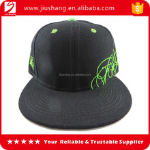 wholesale custom promotional black softtextile baseball cap/6 panel baseball cap