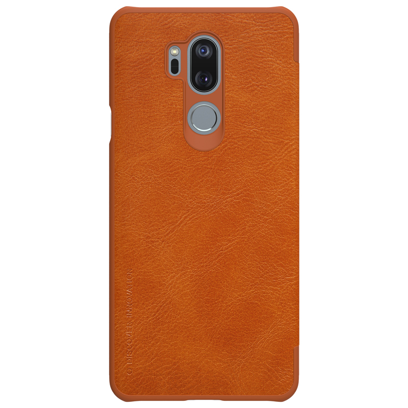reputable site 417bb 3cba0 Nillkin Qin series fancy leather case for LG G7 ThinQ smart flip phone  cover with card slot design, View fancy leather case, Nillkin Product  Details ...