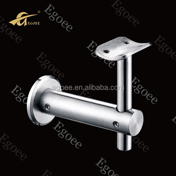"304 316 Inox wall stair handrail bracket/2"" pipe mounting bracket"