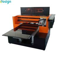 Top quality A3 digital inkjet flatbed uv 8 colors printer print all color at one pass