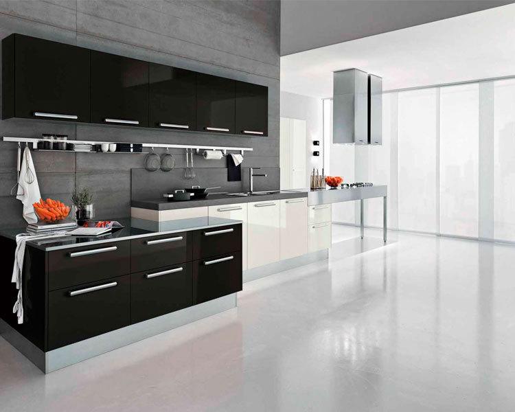 Black kitchen cabinet furniture set buy black kitchen for Kitchen cabinets 700mm