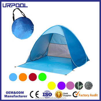 Portable Sun Shade Uv Protection Pop Up Cabana Beach Shelter Infant Sand Tent