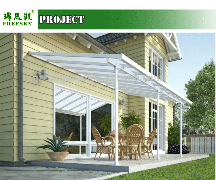 Freesky Transparent Polycarbonate Garden Gazebo View