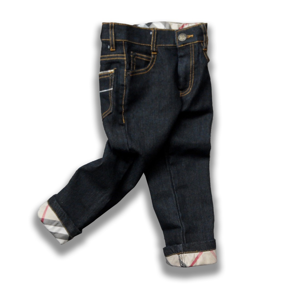 Boys clothing children plaid jeans autumn kids clothes casual spring baby boy clothes infant black trousers brand denim pants