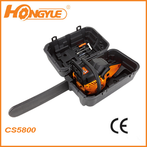 2013 well sell 58cc CE chainsaw gasoline CS5800 with max speed 10000rpm