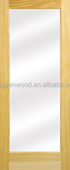 1 Glass Lite Natural Pine Door