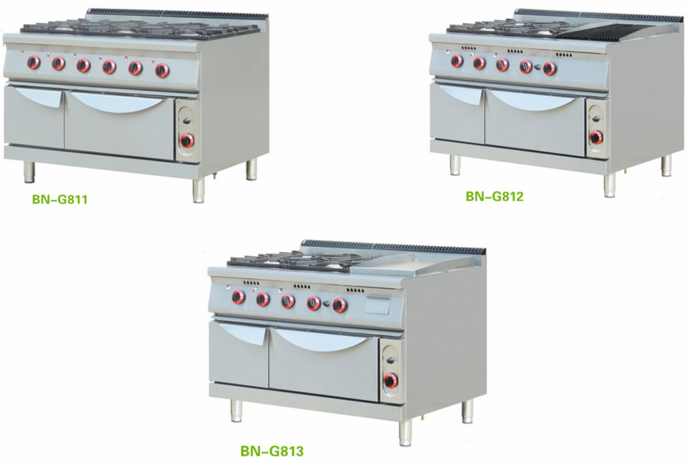 Restaurant Kitchen Oven restaurant kitchen gas cooking equipment with electric oven