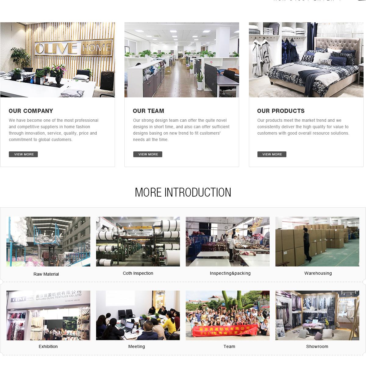 Nanjing Olive Textiles Co Ltd Home Textile Blanket