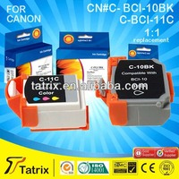 Printer supplies Wholesale China Premium Ink Cartridge BCI10 BCI11 for Canon Ink Cartridge Manufacturer 16 Years Experience