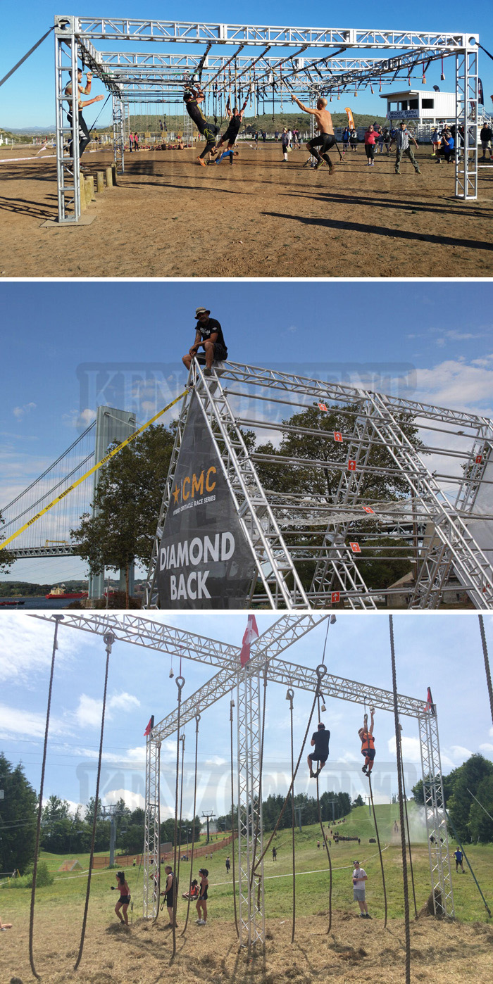 Aluminum Ninja Course Truss Obstacle Course Truss System