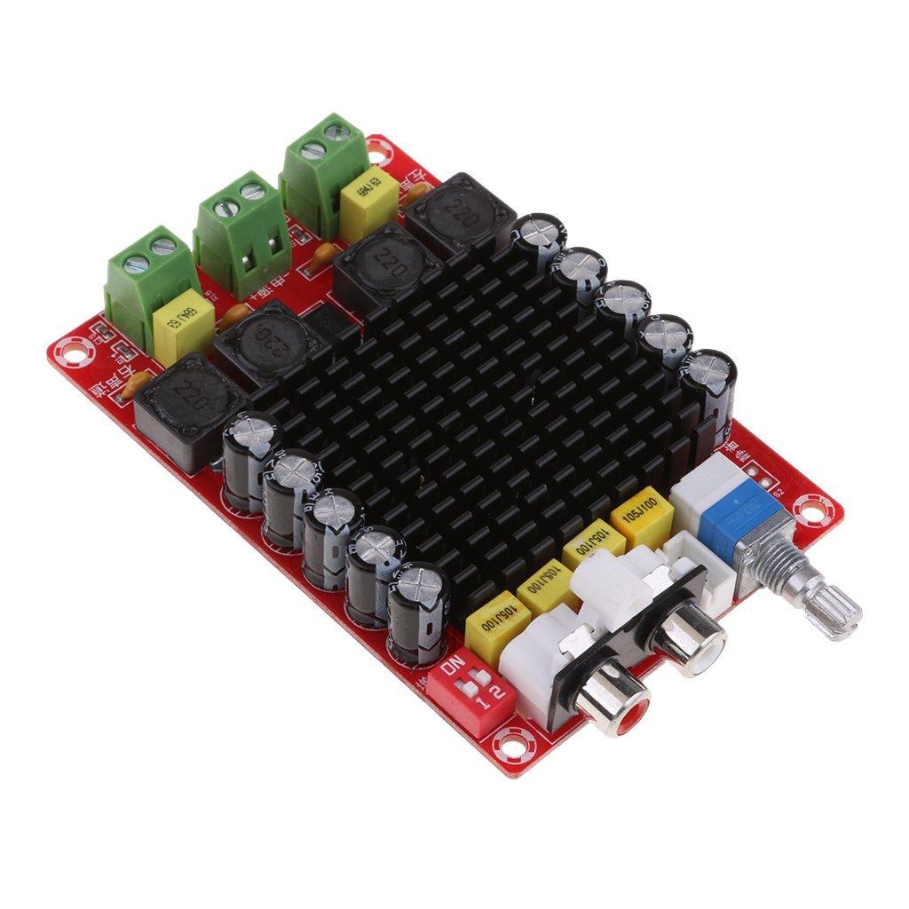 Baosity TDA7498 DC 14-32V Amplifier Board of Class D 2X100W Amplifier Board XH-M510