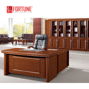 Superbe Luxury Large Size Classic Cherry Wood Office Desk Executive Desk For  Customization(FOH A66283)