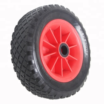 12 Inch PU non-Pneumatic Wheel For Beach Cart
