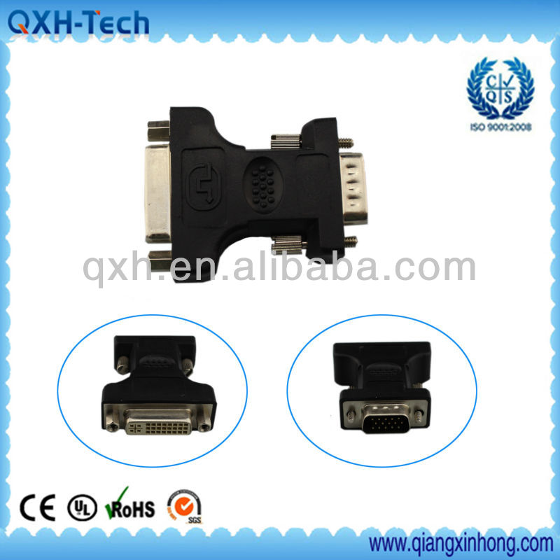DVI 24+1 to DB9 adapter