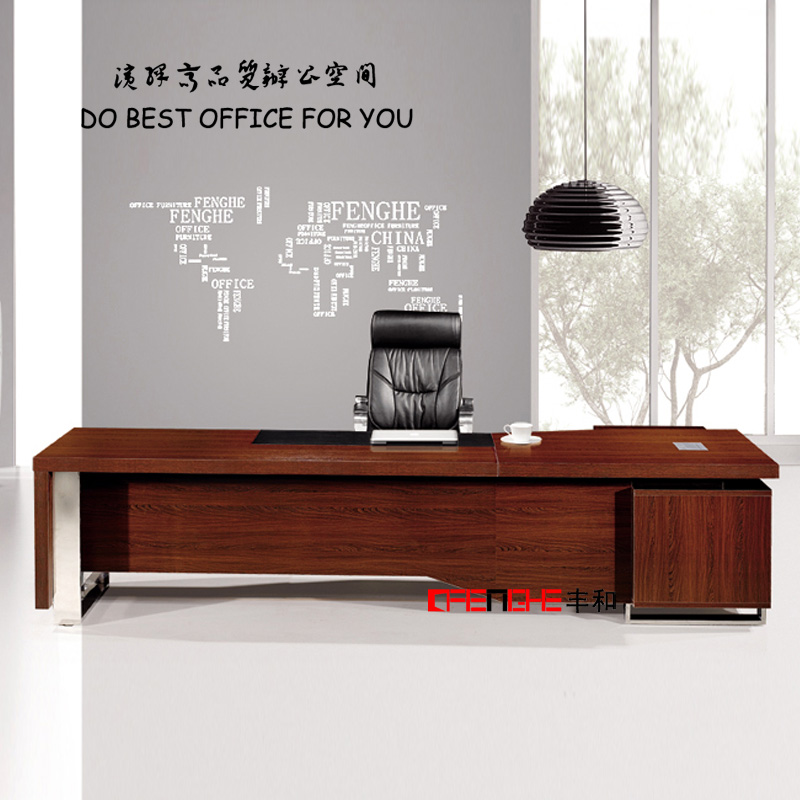 High Quality Wood Veneer Office Furniture Executive Office Table Design/Director Table Design