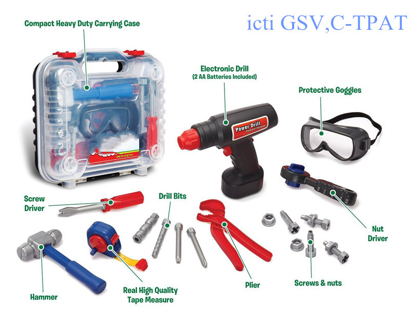 Buy Toy From China Tool Set With Drill,Construction Accessories ...