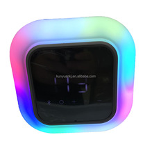 2018 Nuovo prodotto <span class=keywords><strong>Impermeabile</strong></span> altoparlante <span class=keywords><strong>Bluetooth</strong></span>, Alarm clock Speaker Wireless altoparlante <span class=keywords><strong>bluetooth</strong></span> luce del LED