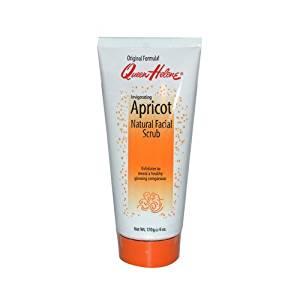 New - Queen Helene Invigorating Natural Facial Scrub Apricot - 6 oz