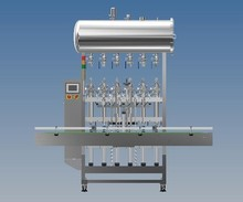 Automatic Pueumatic Linear Liquid Viscous Paste Filling Machine