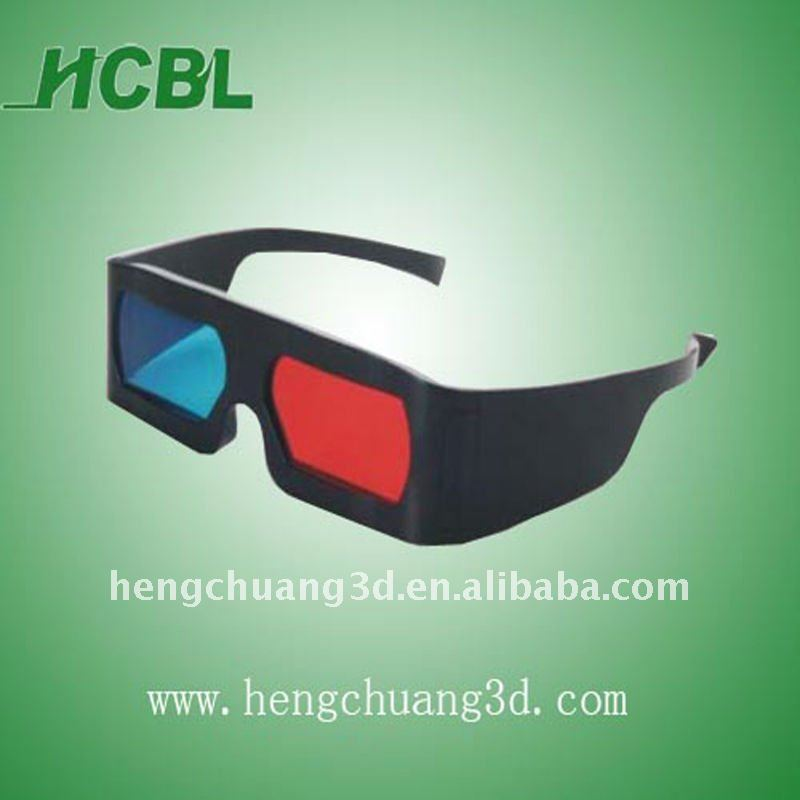 Disposable Red Cyan 3d Video glasses